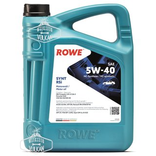 5 LITER ROWE MOTORÖL HIGHTEC SYNT RSi SAE 5W-40 - MADE IN GERMANY